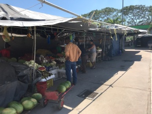 vendors at San Ignacio Market