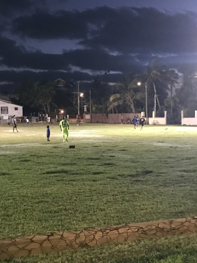 soccer in Caye Caulker