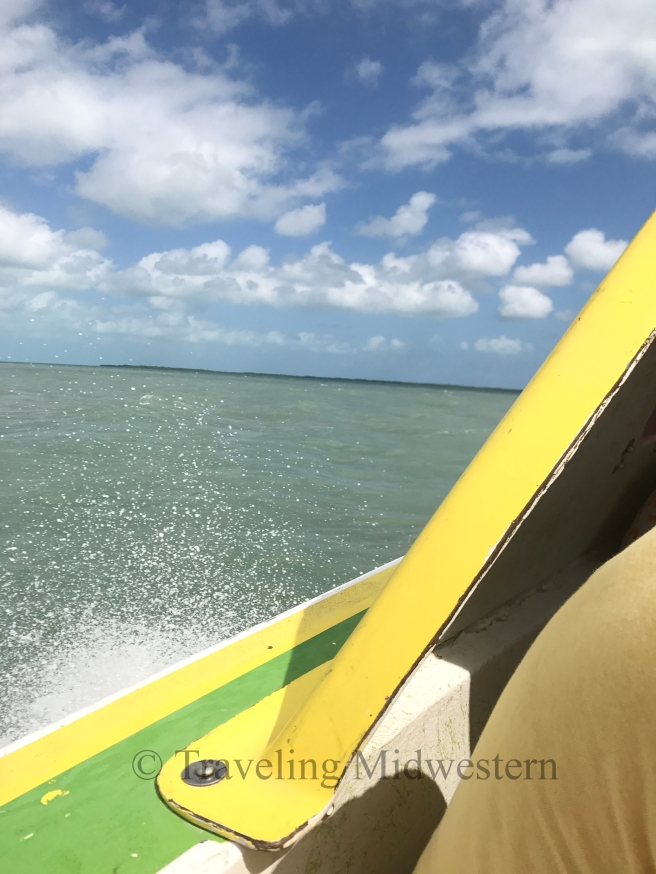 Getting to Caye Caulker Belize