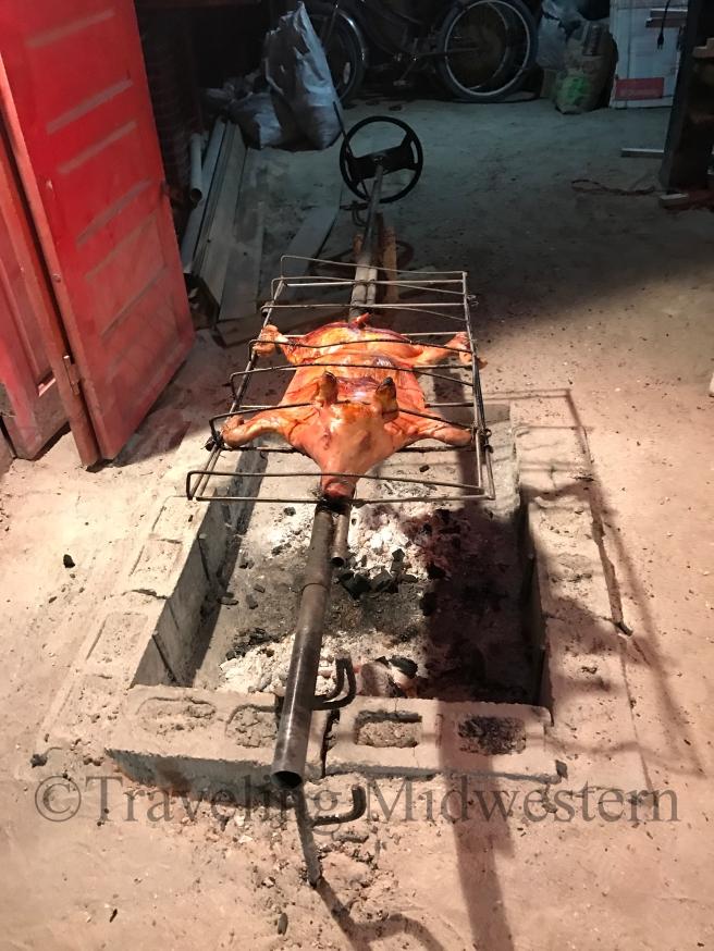 el cubana pig roast