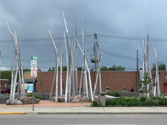 Jamestown art park