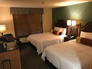 Guest room in Medoras Historic Roughrider Inn