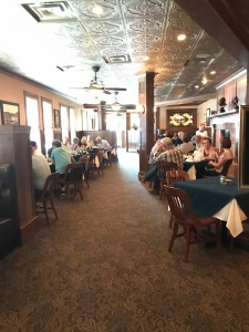Theodore's Dining Room in Roughriders Inn Medora North Dakota
