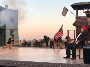 Medora Musical Opening Scene