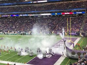 Minnesota Viking game
