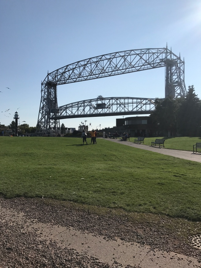 Lift Bridge in Canal Park Duluth
