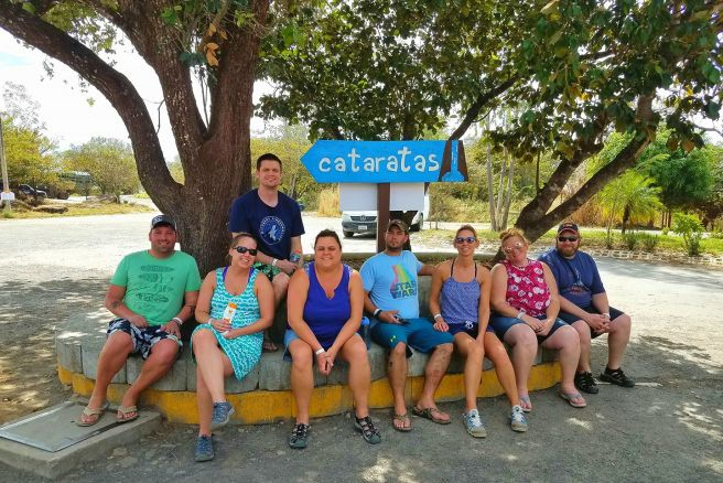 group at Ponderosa Adventure Park