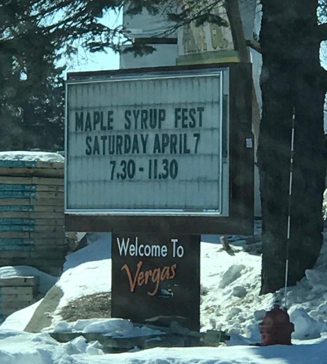 Vergas Maple Syrup Fest